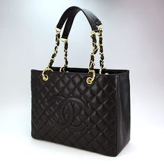 Chanel GST Black Caviar leather with Gold hardware please