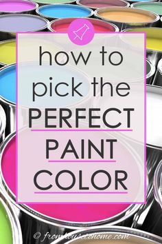If you're having a hard time deciding on a paint color for your room, these tips for choosing paint colors will really help! I was able to pick my bedroom paint color so much easier with these steps. | Painting Tips