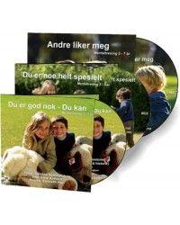 Mindfullness stories for children 3-7yrs. På norsk.