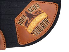 5 Star Equine 100% Virgin Wool Award Pads - Custom Embroidered Leather Logos