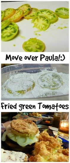 Move over #PaulaDeen. Learn how to make #friedgreentomatoes. #Southernstyle