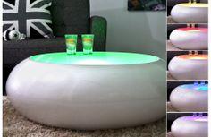 Table basse design, qui vous permet de changer les ambiances de votre intérieur, couleur douce ou plus vive faites votre choix.