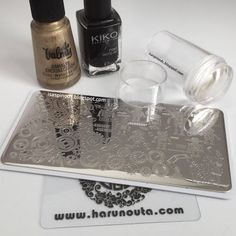 Little Fairy: Stamping Steampunk Nail Art - Harunouta