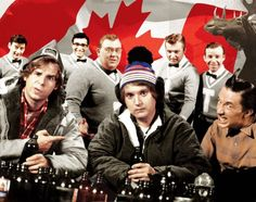 """January 2013 Issue of Vanity Fair: """"Of Moose and Men: Analyzing Canadian Humor"""" I Am Canadian, Canadian History, Canadian Humour, Dave Thomas, Rick Moranis, Meanwhile In Canada, Martin Short, 2nd City, Canada Eh"""