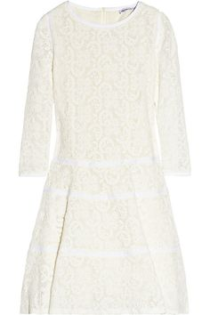 See by Chloé Crocheted cotton-lace dress