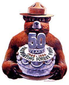 Smokey Bear - 50 Years - 1944-1994