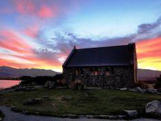 Church of the Good Shepherd. Lake Tekapo, NZ. By Kieron Maclean