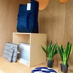 New window at #objectmeteenverhaal #pijamagram #colourfulcases #stripes #silver #neoprene #rainsjournal #backpack #nordic #beautifullthings #accessories #inspiration #lifestyle #merchtem
