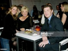 News Photo : Lindsay Krauss , Joan Lunden and actor Bobby Flay...