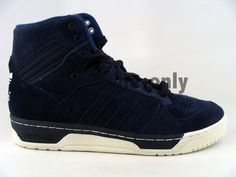 Adidas-Originals-Rivalry-Hi-Vintage-Dark-Blue-retro-mens-hip-hop-suede-shoes-NIB