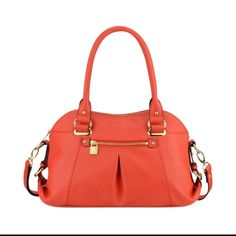 Anne Klein Beautiful rare orange trinity bag great for the holiday Anne Klein Bags Shoulder Bags