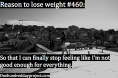 My reason to lose weight. Because I'm so much better than this.