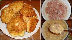 Kuřecí prsa jsou velmi oblíbený druh masa. Příprava pokrmů z kuřecího masa je velmi rychlou záležitostí a nedáme dopustit na jeho jemnost a křehkost. Dnes si připravíme kuřecí maso na takový způsob, který je pro vás dosud možná velkou neznámou. Kuřecí placky si však zamilujte a jistě se na vaše Czech Recipes, French Toast, Chicken Recipes, Food And Drink, Menu, Cooking Recipes, Cheese, Breakfast, Foodies