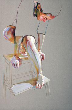 "Saatchi Online Artist Cristina Troufa; Painting, """"Pedestal"" - SOLD"" #art"