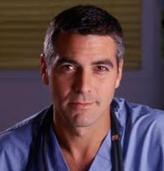 Grey's Anatomy, George Clooney Er, Kentucky, Hot Doctor, Tv Doctors, Hollywood, Portraits, Falling In Love With Him, Classic Tv
