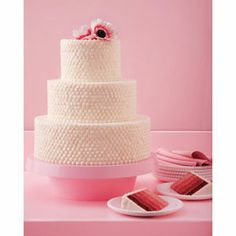 Cake Trends 2013. Update A Classic. Update A Classic Put a fresh spin on a tried-and-true favorite to make your cake a crowd-pleasing standout. This red-velvet cake is brought to life with ombre layers that range from pink to crimson.