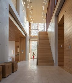 hamptons beach house - aamodt / plumb architects. Love the patterned light diffusion