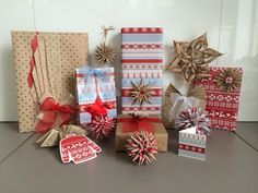 My favourite giftwrap from this year's Phoenix selection.  Here's what you can do with it.