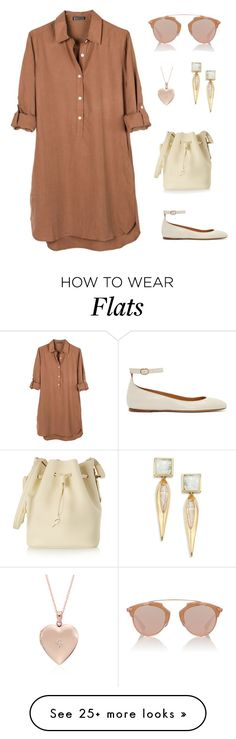 """Untitled #1500"" by bushphawan on Polyvore featuring United by Blue, Sophie Hulme, Isabel Marant, Christian Dior, Blue Nile and Alexis Bittar"