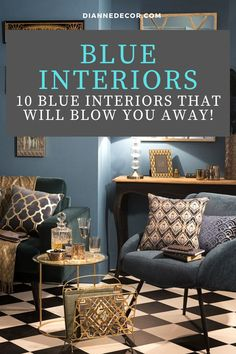 Blue is a calming and relaxing color.  But, what about an all blue interior? What would that look like? Spoiler alert! It would look amazing.    #blueinterior #bluedecor #classicblue #blueroom #roomideas #homedecorating #interiordesign #interiordecorating #interiorstyle #decoratingideas Blue Rooms, Blue Walls, Decorating Tips, Interior Decorating, Interior Styling, Interior Design, Living Room Decor Inspiration, Relaxing Colors, Blue Interiors