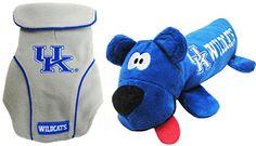 NCAA Kentucky Wildcats Pet Tube Toy  Pet Fleece Vest Bundle  Medium *** Click image for more details.