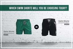 Summer is here! Which swim shorts will you be wearing in the heat? www.russellathletic.co.za Look 2015, Summer Is Here, Swim Shorts, Parachute Pants, Swimming, Seasons, How To Wear, Fashion, Swim