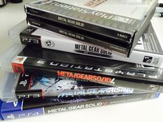 Metal Gear Solid games collection for PSone, PlayStation 3 and 4