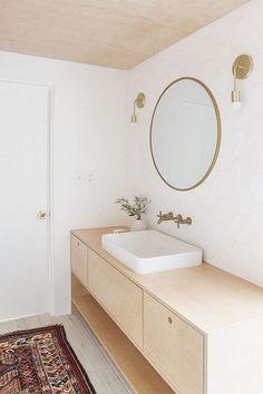 Cool Modern Plywood Vanity Designs Bathroom - Page 12 of 25 Bathroom Design Software, Bathroom Design Layout, Bathroom Design Luxury, Bathroom Tile Designs, Modern Bathroom Design, Modern Master Bathroom, Minimalist Bathroom, Bathroom Accessories Luxury, Contemporary Bathroom Designs