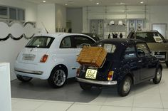 hard to choose between them. but every car should come with a picnic rack Car Restoration, Fiat, Dream Cars, Picnic, Vehicles, Rolling Stock, Picnics, Picnic Foods, Vehicle