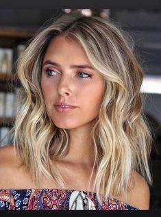 Beachy Blonde Hair, Blonde Hair Looks, Blonde Hair With Highlights, Brown Blonde Hair, Short Blonde Balayage Hair, Medium Blonde Hairstyles, Blonde Honey, Brown Balayage, Color Highlights