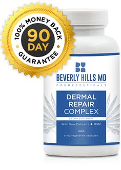 Beverly Hills MD: Dermal Repair Complex | Order Now Health And Beauty, Health And Wellness, Beauty Skin, Beverly Hills Plastic Surgery, Skin Structure, Formula Cans, Vitamins For Skin, Good Manufacturing Practice, Donate To Charity