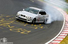 BMW E39 M5 Ring-Taxi ;-)