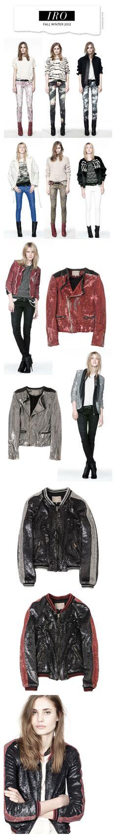 IRO Fall Winter 2012  Love the jackets!!!