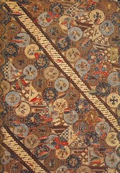 Batik Kain worked in Tulis in north and central Java