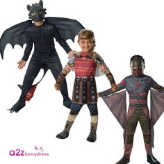 HOW TO TRAIN YOUR DRAGON ASTRID TOOTHLESS HICCUP KIDS FILM FANCY DRESS COSTUME