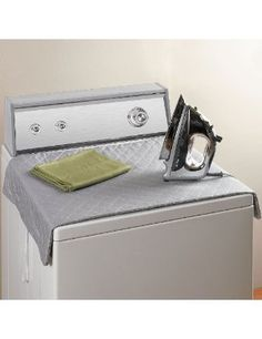 Magnetic Ironing Board for on top of dryer $13