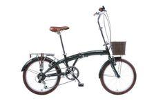 Viking Westwood Unisex 11in Folding Bike Green