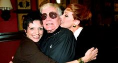 Liza Minnelli, Blake Edwards and Julie Andrews, 1997. During...