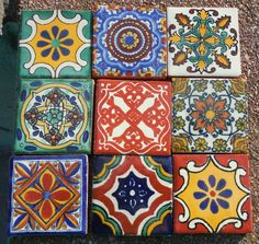 Diversas Clases De azulejo mexicano párr Su Casa Diseño de Interiores Interiores Varios Tipos de patrones de Diseño del azulejo mexicano con ...