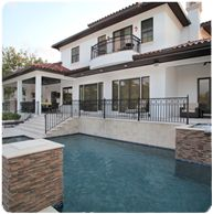 South Tampa Custom Home pool