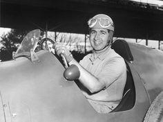 Alberto Ascari – winner of the 1952 and 1953 Belgian Grand Prix for Ferrari.
