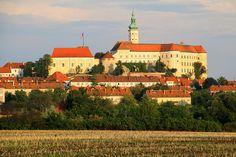 The castle of Mikulov, Czech Republic