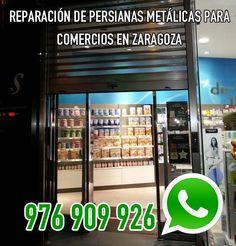Instalación y reparación de persianas metálicas para locales comerciales