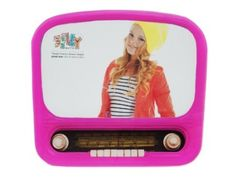 Amazon.com - Present Time Silly Radio Glass Photo Frame, Pink