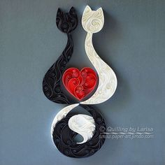 quilling, quilling paper, annoyed, marriage, q - Quilled Paper Art Paper Quilling For Beginners, Paper Quilling Tutorial, Paper Quilling Patterns, Quilled Paper Art, Quilling Techniques, Diy Paper, Paper Crafts, Neli Quilling, Quilling Work