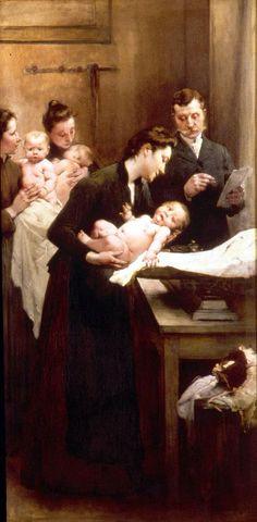 'El Peso' de Henry Jules Jean Geoffroy (1853-1924)