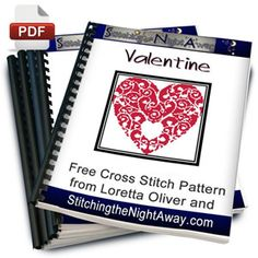 This is a brand new pattern from us just in time to stitch for Valentine's Day, just charted it out this afternoon. You can use any color you like, stitch all in one color or grab an over-dyed flos. Cross Stitch Needles, Cross Stitch Heart, Modern Cross Stitch, Cross Stitch Designs, Cross Stitch Patterns, Cross Stitching, Cross Stitch Embroidery, Heart Patterns, Beading Patterns