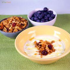 Lizzie's Granola by Michael Symon! #TheChew #Breakfast