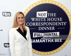 Samantha Bee arrives on the red carpet at 'Not the White House Correspondents' Dinner' at DAR Constitution Hall on April 29, 2017 in Washington, DC.