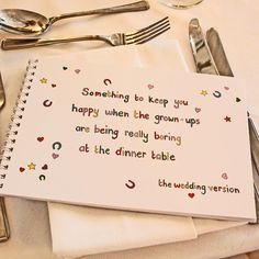Children's Wedding Activity Book - Something To Keep Children Happy When Grown Ups Are Boring At The Dinner Table - The Wedding of My Dreams